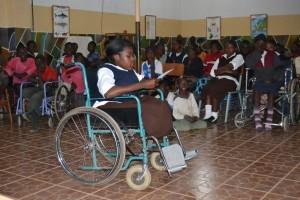 15-I bambini portatori di handicap che vivono a Dagama