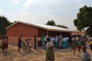 31-Il nuovo Centro Anziani a Walale finanziato dalla ns. associazione grazie alla donazione di una benefattrice di Roma